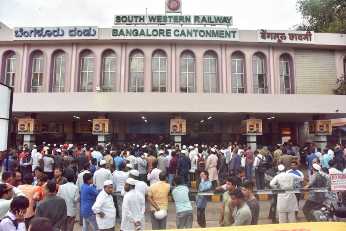 Project to develop Yeshwantpur, Cantonment stations dropped