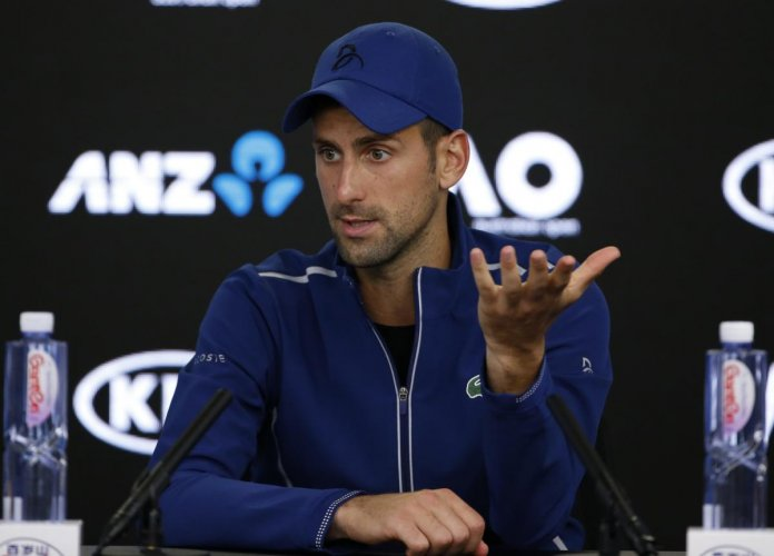 Back to drawing board for Djokovic