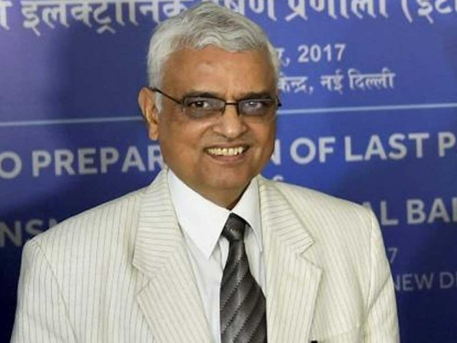 O P Rawat takes charge as new CEC