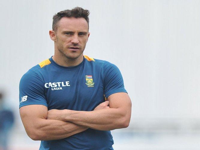 Du Plessis gunning for whitewash