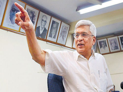 Karat says Yechury didn't offer to resign; I did, counters latter