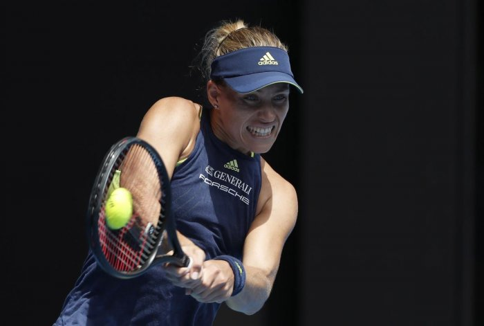 Kerber on fire in Keys rout to reach semis