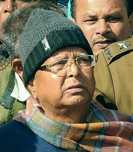 Third fodder scam case: Lalu Prasad Yadav gets five years imprisonment