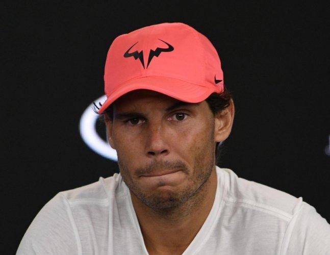 Injured Nadal set to return in three weeks