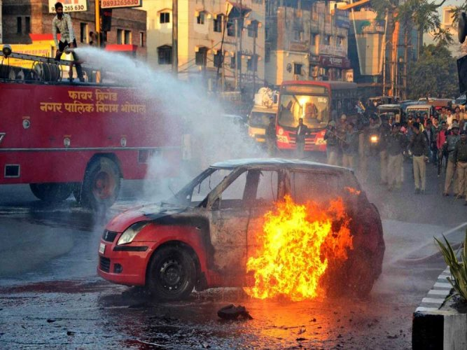 Protests across country against 'Padmaavat'
