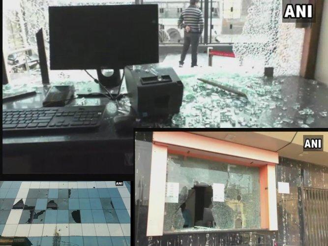 Padmaavat protests: violence hits UP