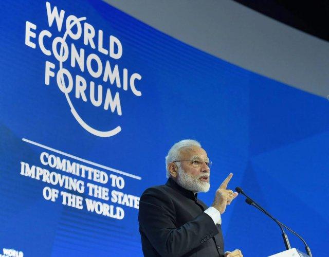 China praises Modi's speech at Davos opposing protectionism