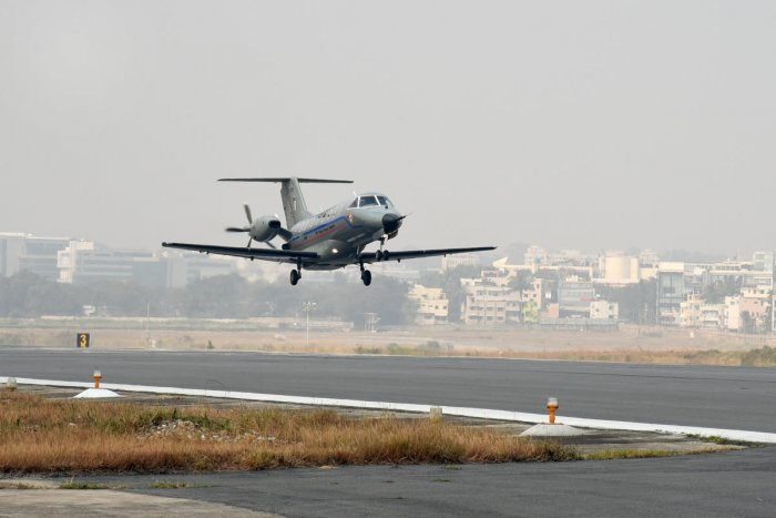 Modified Saras takes to skies after nine years