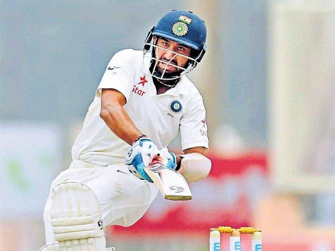A very tough pitch for batsmen, says Pujara