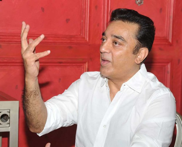 Actor Kamal names political tour after MGR film
