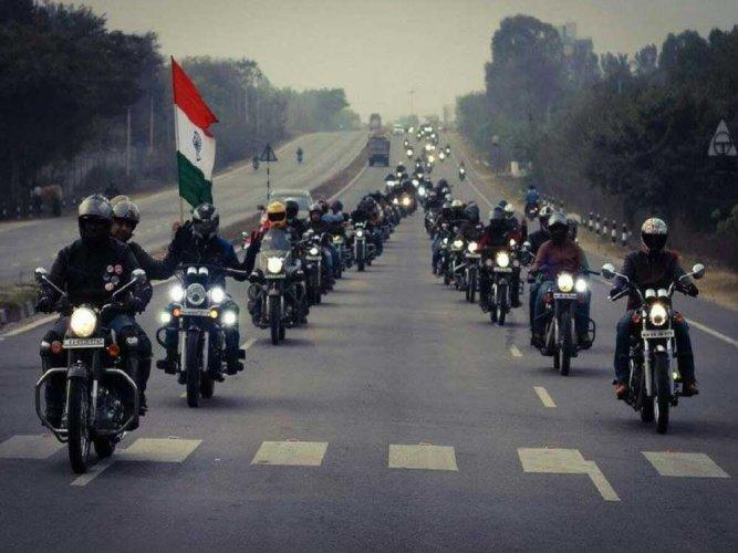 On a patriotic path