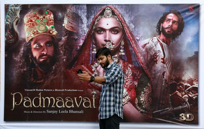 'Padmaavat' opens under security cover, moviegoers defy threat of violence