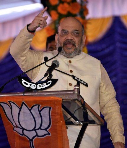 Shah accuses CM of sponsoring bandh