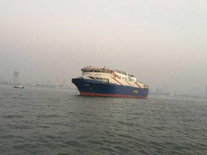 Mumbai's first coastline cruise!