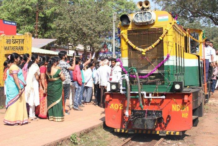Matheran toy train services resume fully