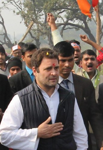 Rahul attends Republic Day Parade