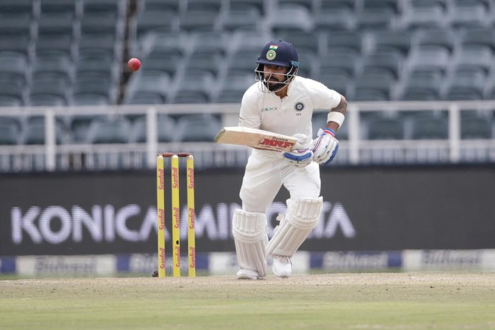 India gain healthy lead on  treacherous pitch
