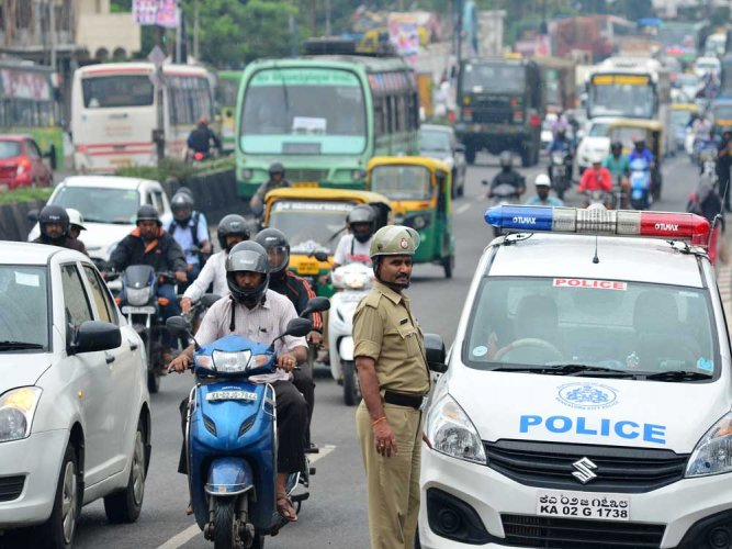 After terror threat, police strengthen security across state