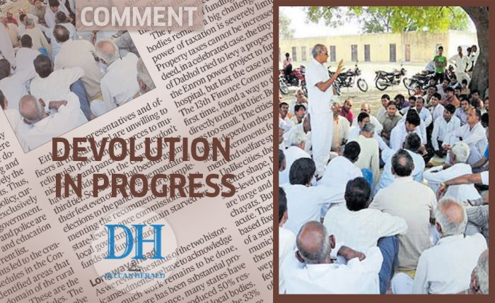 Devolution in progress