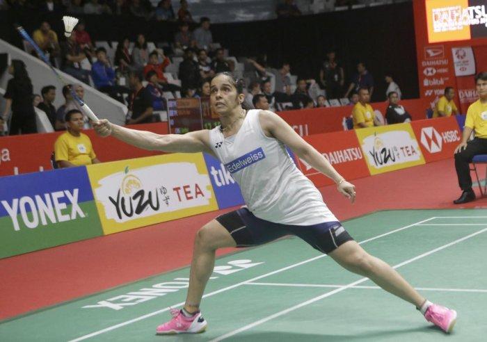 Sensational Saina enters final of Indonesia Masters