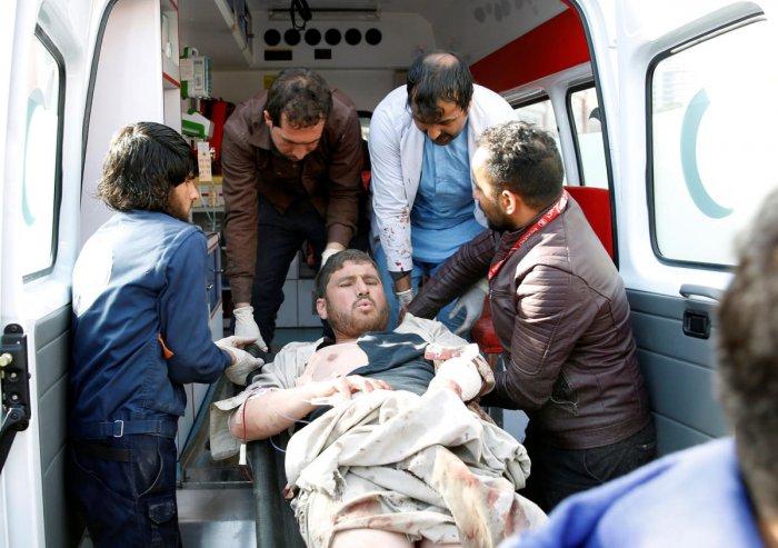 Growing anger after Kabul ambulance bomb kills nearly 100
