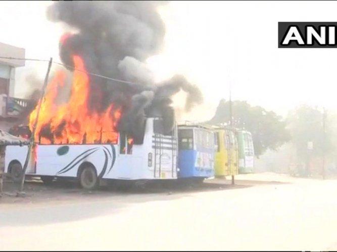Violence erupts in UP's Kasganj again, Curfew imposed