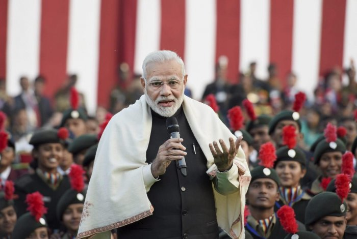 Natural to have different views, but strive for unity: Modi