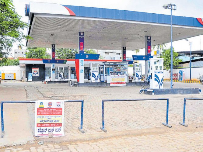 Tanker drivers' stir over bad road may hit fuel supply to city