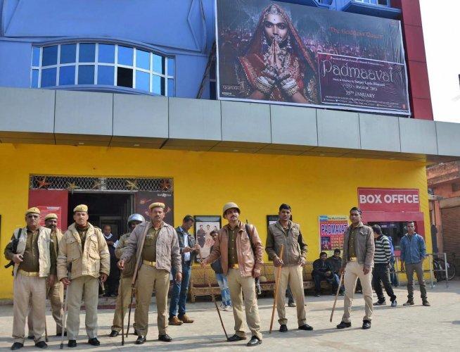 'Padmaavat' row: Petrol bomb thrown inside theatre