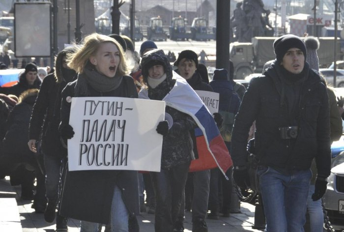 Russia's Navalny urges rallies in show of defiance against 'pseudo-polls'