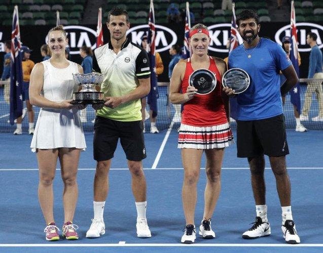 Bopanna-Babos pair ends runner-up at Australian Open