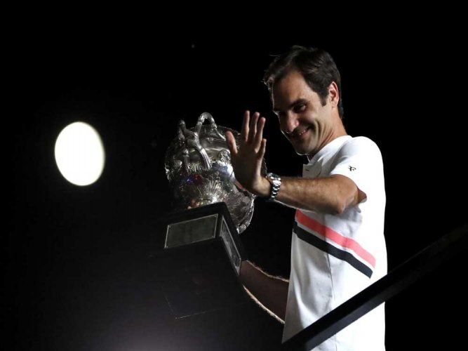 Federer fights off Cilic to win 20th Grand Slam title