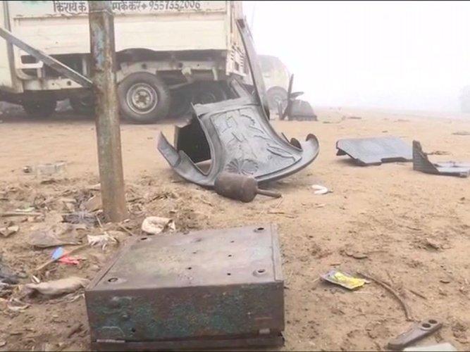 Kasganj still tense, weapons recovered, 80 held