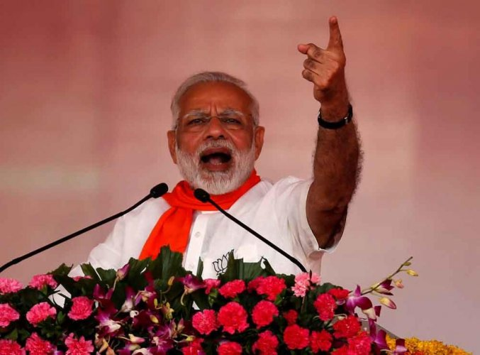 In veiled attack on Lalu, Modi says, no one guilty of corruption will be spared