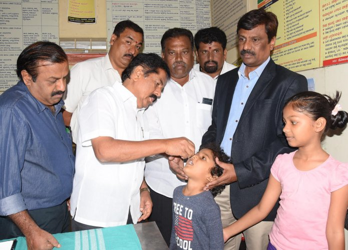 First phase of pulse polio drive begins