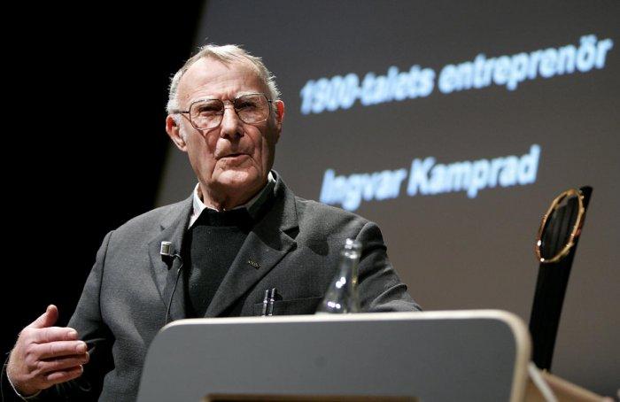 Ikea's frugal billionaire founder Ingvar Kamprad dies aged 91