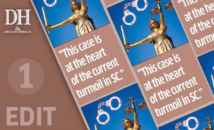 Encounter trial: gag order had to go