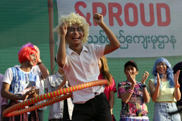 Myanmar LGBT festival goes public for first time