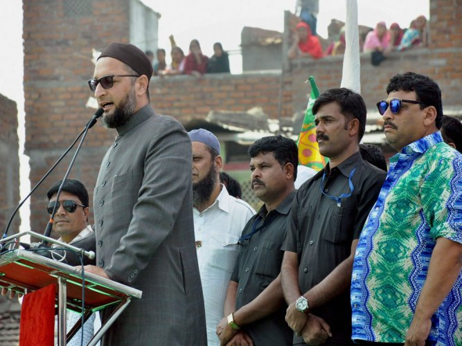 Cong hauls BJP over the coals on 'secret' pact with Owaisi's party