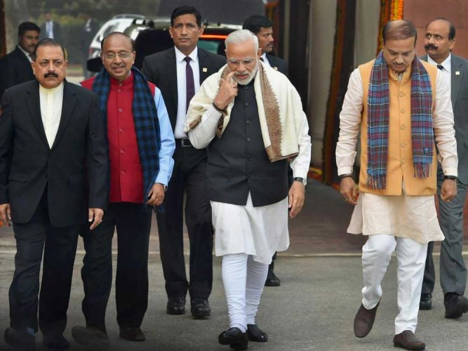 NDA pat for Modi for Davos, Asean summit