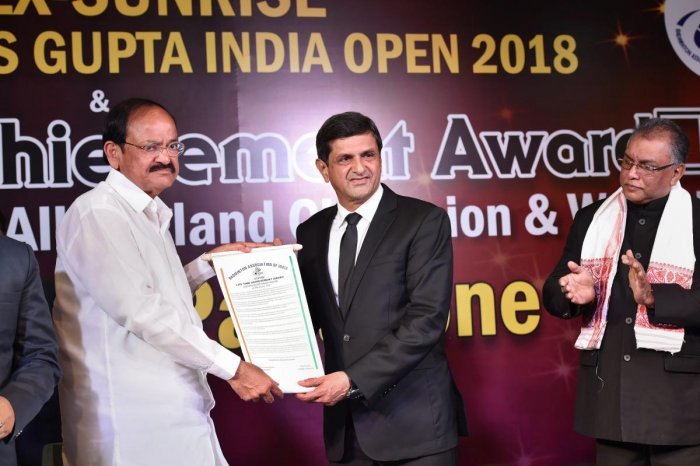 Prakash Padukone conferred BAI Lifetime achievement award