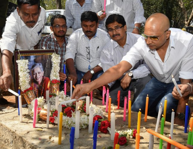 Gauri event sponsored by state govt, says Indrajit