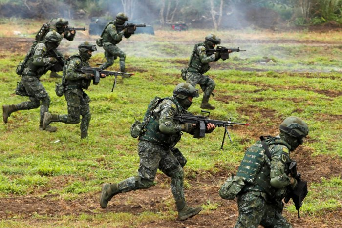 Taiwan holds live-fire drills as China tensions mount
