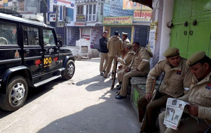 Man reported killed in Kasganj violence surfaces