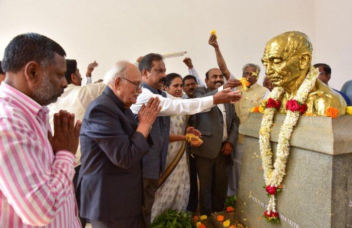 'Gandhi Bhavan can be made model edu institution'