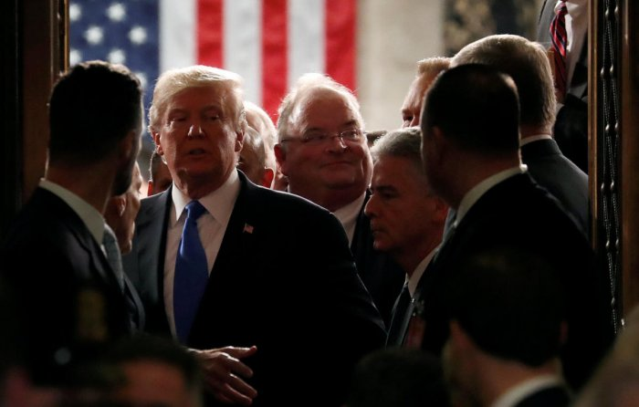Trump pushes for merit-based immigration in his first State of Union address