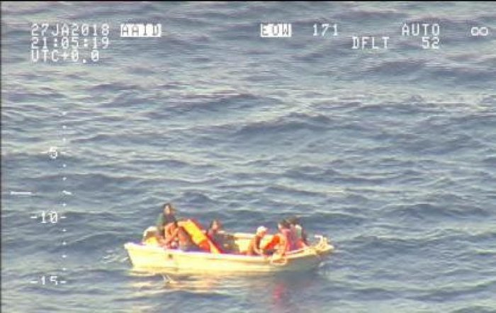At least 80 on sunken Pacific ferry: officials