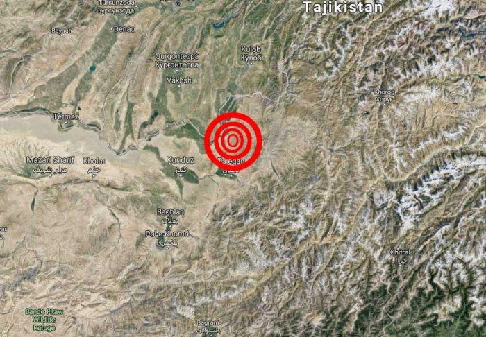 6.1 magnitude quake rattles Afghanistan; tremors in Pak, India