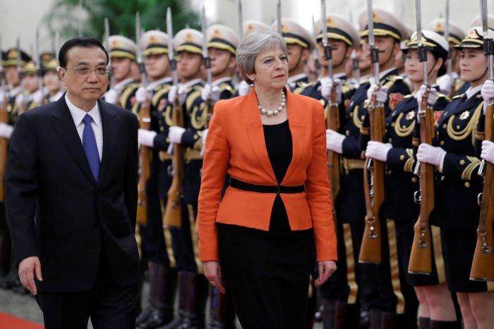 Theresa May eyes 'golden era' with China as Brexit looms