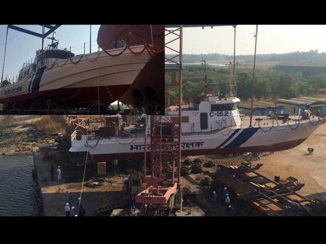 Watch: BDIL presents Vessel-410 to Indian Coast Guard